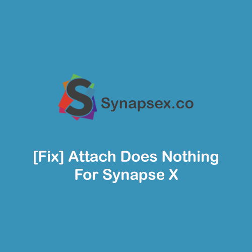 [Fix] Attach Does Nothing For Synapse X